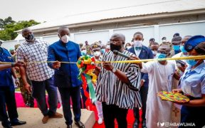 Bawumia Commissions, Hands over 37 Hospital Infectious Disease Centre